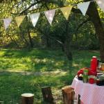 Ogród Społecznościowy Fort Bema - jesienne porządki i piknik