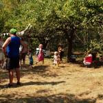 piknik inauguracyjny w ogrodzie społecznościowym