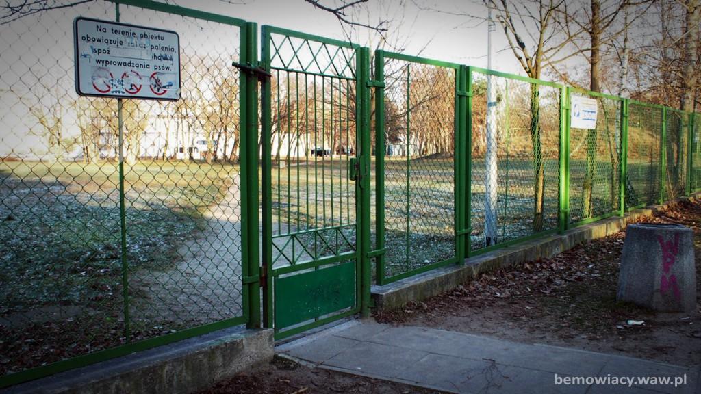 OSiR - wejście od strony Widawskiej