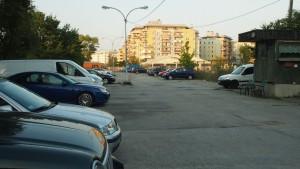 Parking przy Widawskiej