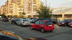 Parking przy Osmańczyka