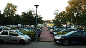Parking przy Obrońców Tobruku