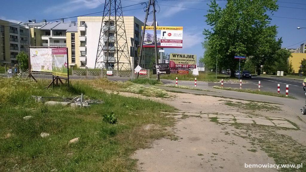 Ulica Batalionów Chłopskich przy Lazurowej