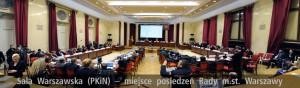 Zdjęcia sali Rady Miasta