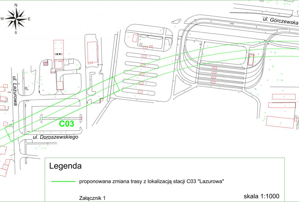 Lokalizacja stacji C03