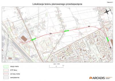 III etap zachodniego odcinka II linii metra w Warszawie