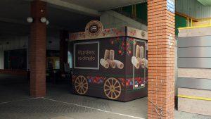 CH Bemowo - parking mobilnych stoisk z gastronomią