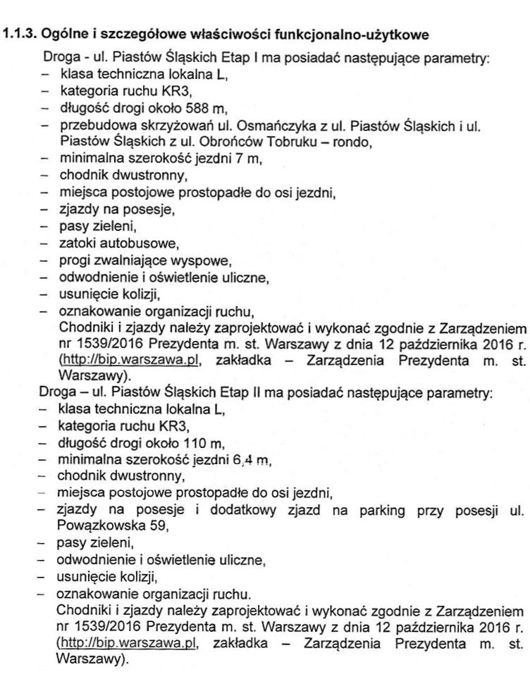 Etapy 1 i 2 budowy ulicy Piastów Śląskich