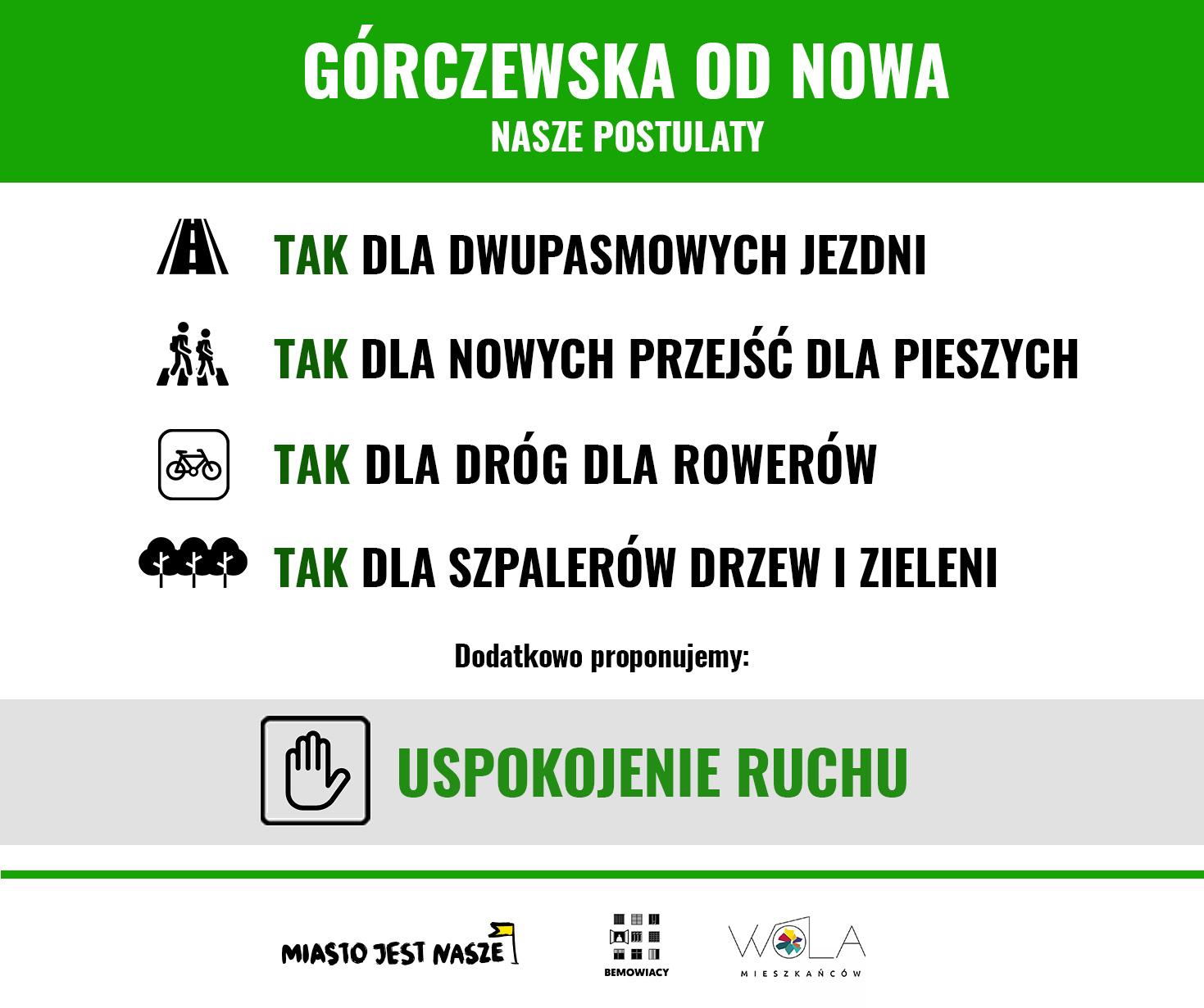 Nowa Górczzewska - konsultacje społeczne