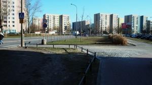 Chodnik przy Wrocławskiej