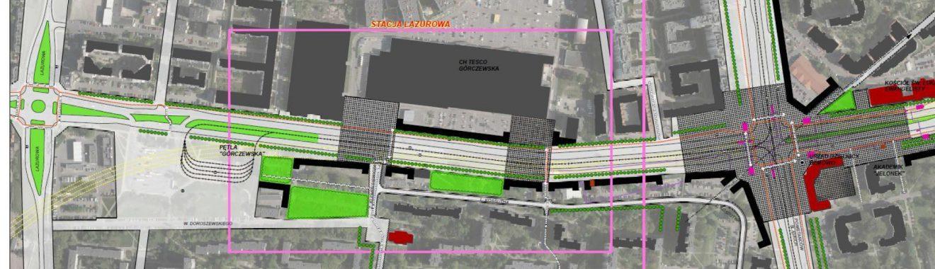 Wytyczne funkcjonalno-przestrzenne do kształtowania przestrzeni ulicy Górczewskiej w Warszawie