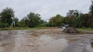 Ul. Waldorffa - podczas budowy kanalizacji