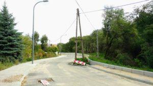 Budowa ulicy Kopalnianej