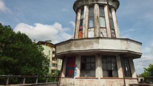 Wieża - wnętrze