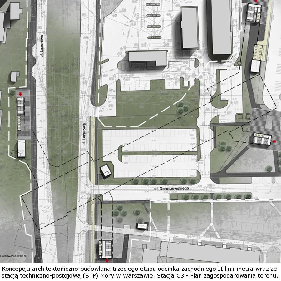 Koncepcja ILF dla stacji metra C3
