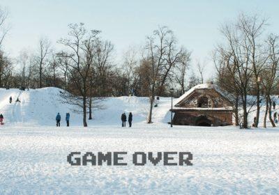Fort Bema zamknięty na zimę