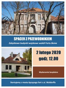 Plakat - spacer 2 lutego 2020