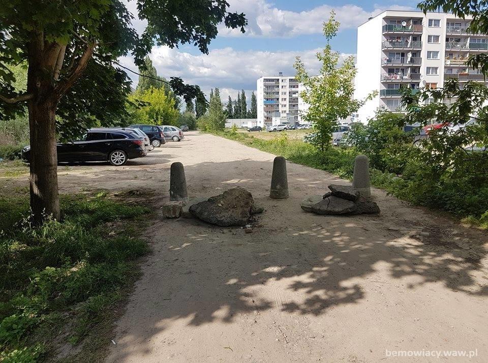 dziki parking Pełczyńskiego
